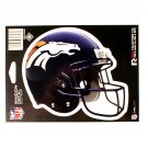 "Denver Broncos Vinyl Car Auto Truck Window Decal Sticker 5.75"" x 7.75"" New"
