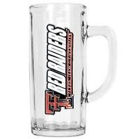 NCAA Texas Tech Red Raiders Beer Mug Heavyweight Glass Tankard Handcrafted New