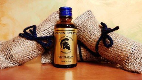Beard Oil Gentleman - The Golden Spartan