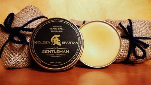 Beard Balm Gentleman - The Golden Spartan