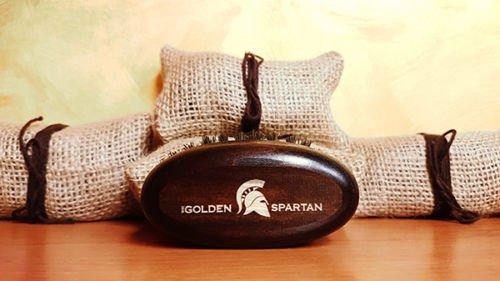 Beard Brush - The Golden Spartan