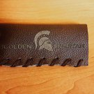 Mustache Guard leather case - The Golden Spartan