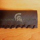 Mustache Guard leather case - The Golden Spartan