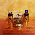 Beard Station Luxury Gift Set - The Golden Spartan