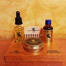 Beard Station Luxury Gold Set - The Golden Spartan