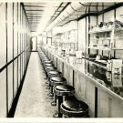 Lunch Counter real photo postcard Contractor Advertisement NYC Kasner Bros.