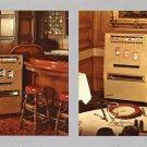 Cigarette vending machine advertising postcard Mint Chrome never mailed