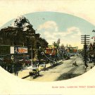 Coney Island Surf Ave very early view Horse Drawn Brooklyn NY postcard