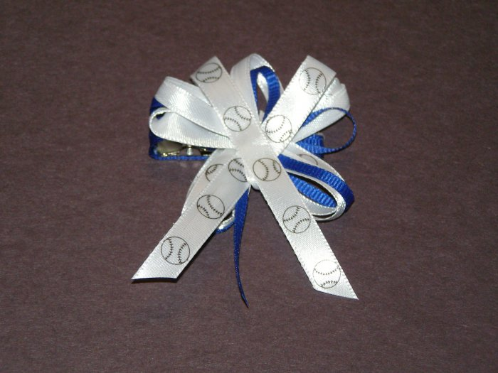Sport theme hairbows