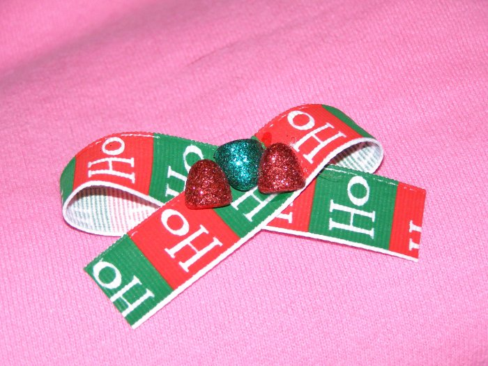 Holiday Cheer hairbow