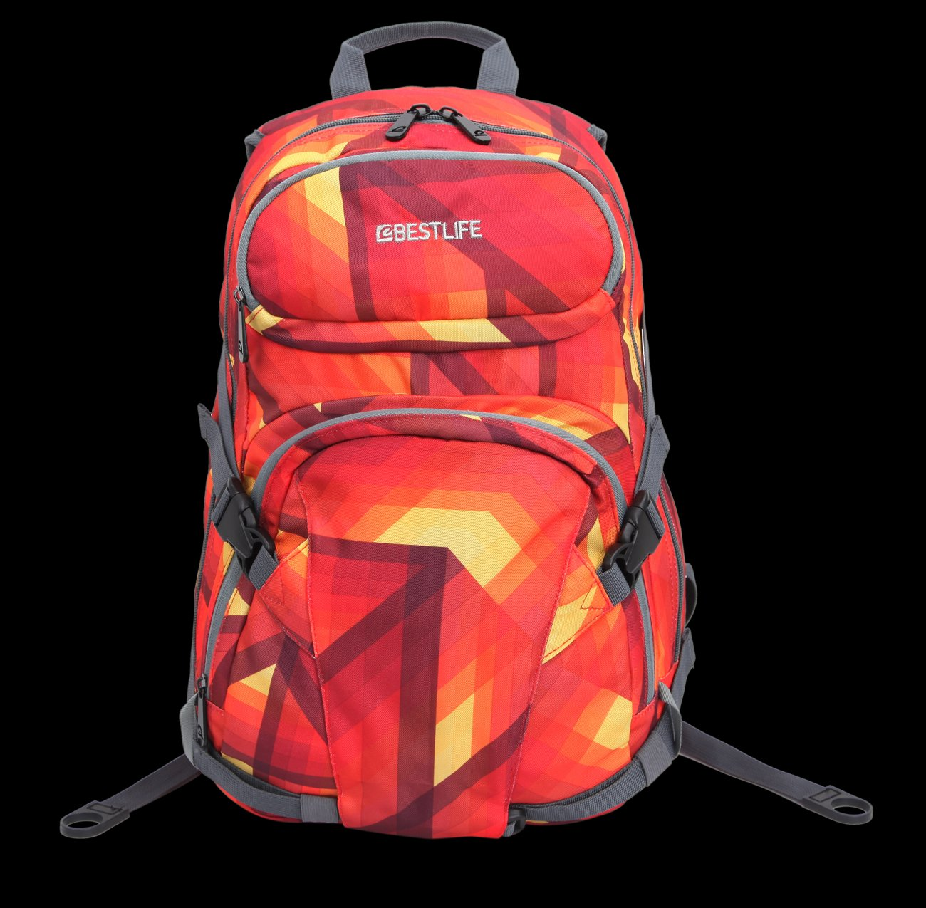 Bestlife Backpack BB-3148R-15.6'' (Orange and Yellow)