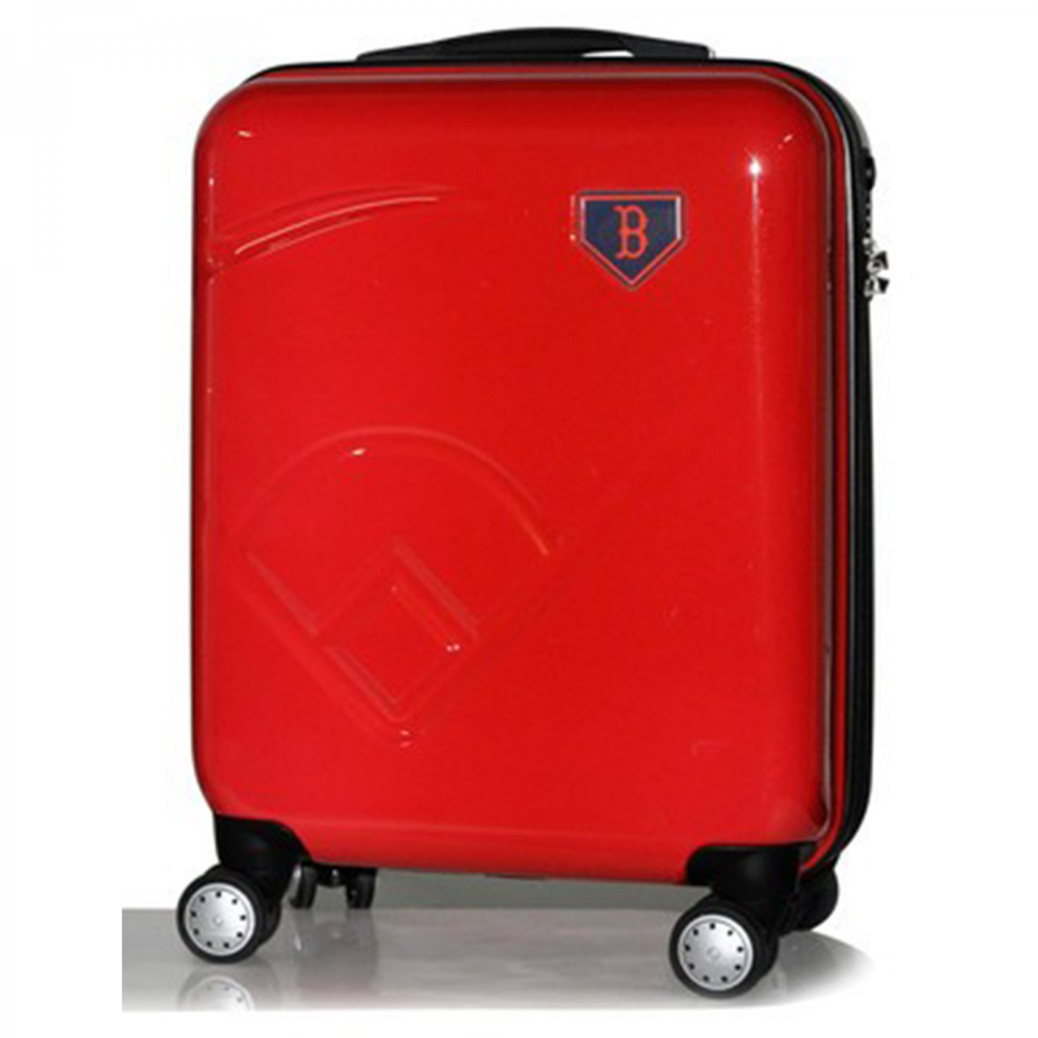 "Boston Red Sox, 19"" Premium Molded Luggage by Kaybull #BOS-19PCF-IFD"