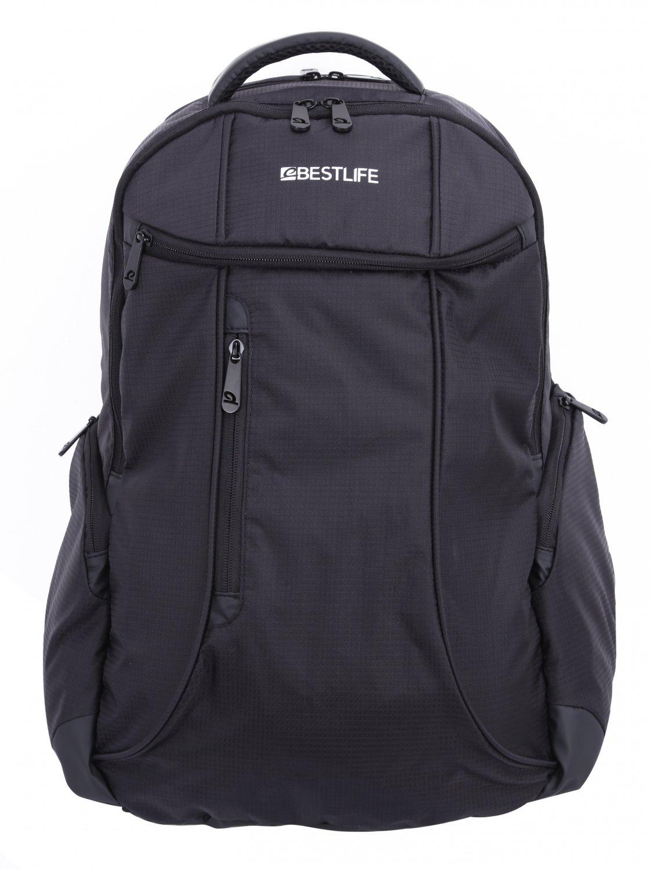 Bestlife Backpack BLB-3073G-15.6'' (Black and Grey)