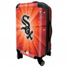 "Chicago White Sox, 21"" Clear Poly Carry-On Luggage by Kaybull #CWS14"