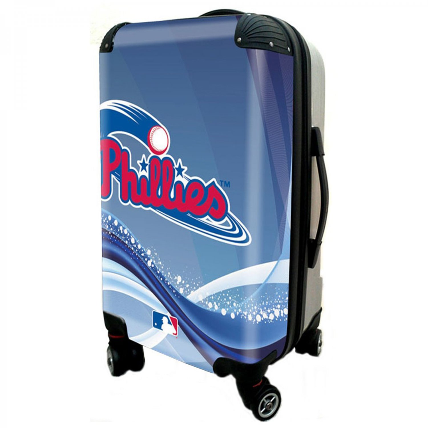 "Philadelphia Phillies, 21"" Clear Poly Carry-On Luggage by Kaybull #PHI11"