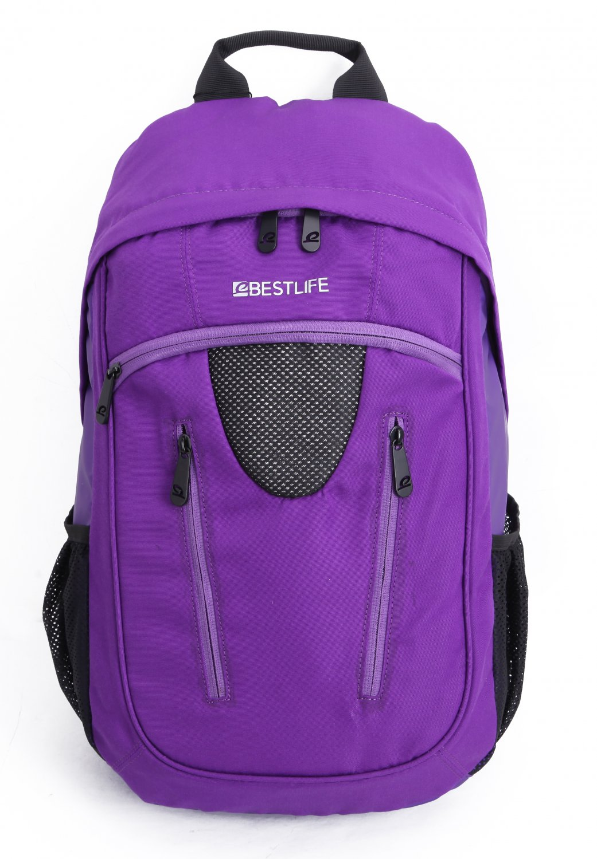 Bestlife Backpack BLB-3077P-15.6'' (Purple)