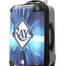 "Tampa Bay Rays, 21"" Clear Poly Carry-On Luggage by Kaybull #TAM5"