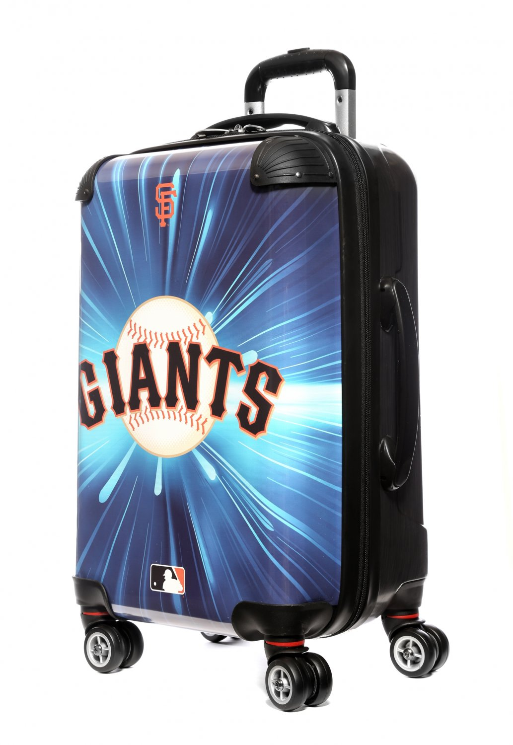 """San Francisco Giants, 21"""" Clear Poly Carry-On Luggage by Kaybull #SF5"""