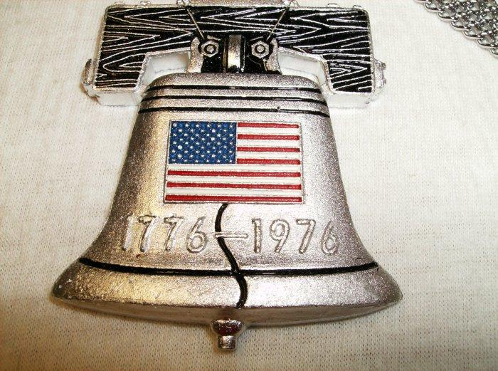 Bicentennial Liberty Bell Pendant