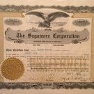 The Sagamore Corporation - vintage stock certificate