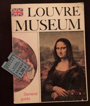 vintage Louvre Museum General Guide