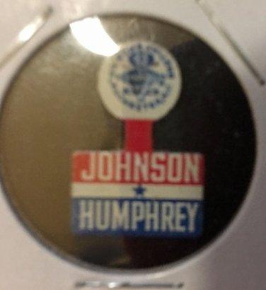 Johnson - Humphrey campaign tab 1964