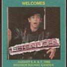 1982 Elton John at Madison Square Gardens Backstage Pass - Radio WPLJ