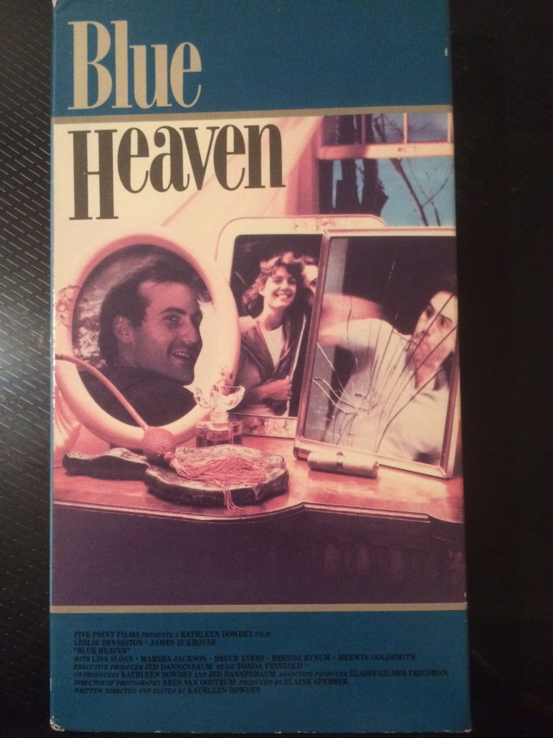 Blue Heaven - VHS - Used - NOT ON DVD - RARE