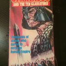 Spartacus and the Ten Gladiators - Used - VHS - NOT ON DVD