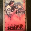 A Taste of Hell - VHS - Used - NOT ON DVD