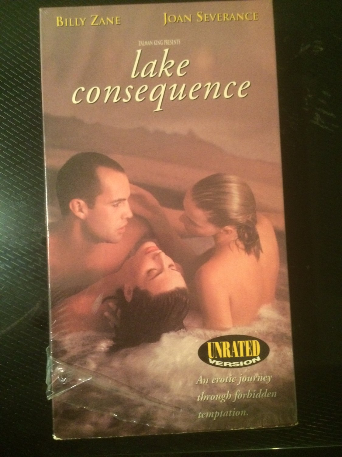 Lake Consequence (Unrated) - VHS - Used - NOT ON DVD