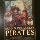 Roman Polanski's Pirates - VHS - Used - NOT ON DVD