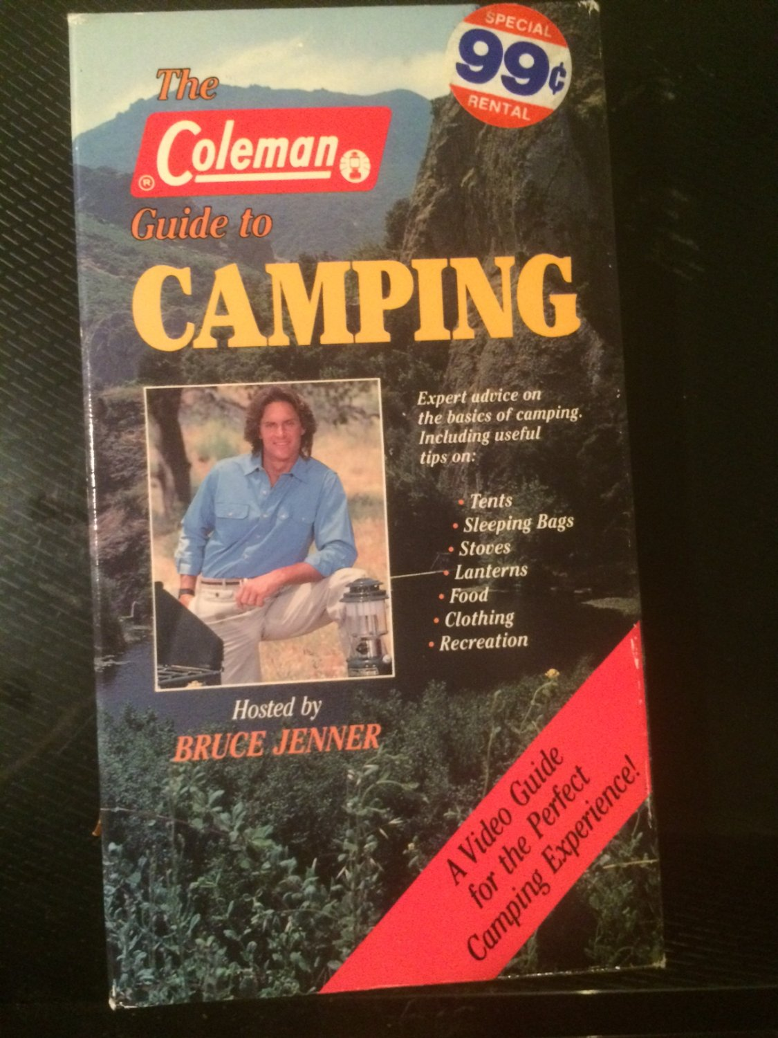 The Coleman Guide to Camping (Bruce Jenner) - Used - VHS - NOT ON DVD