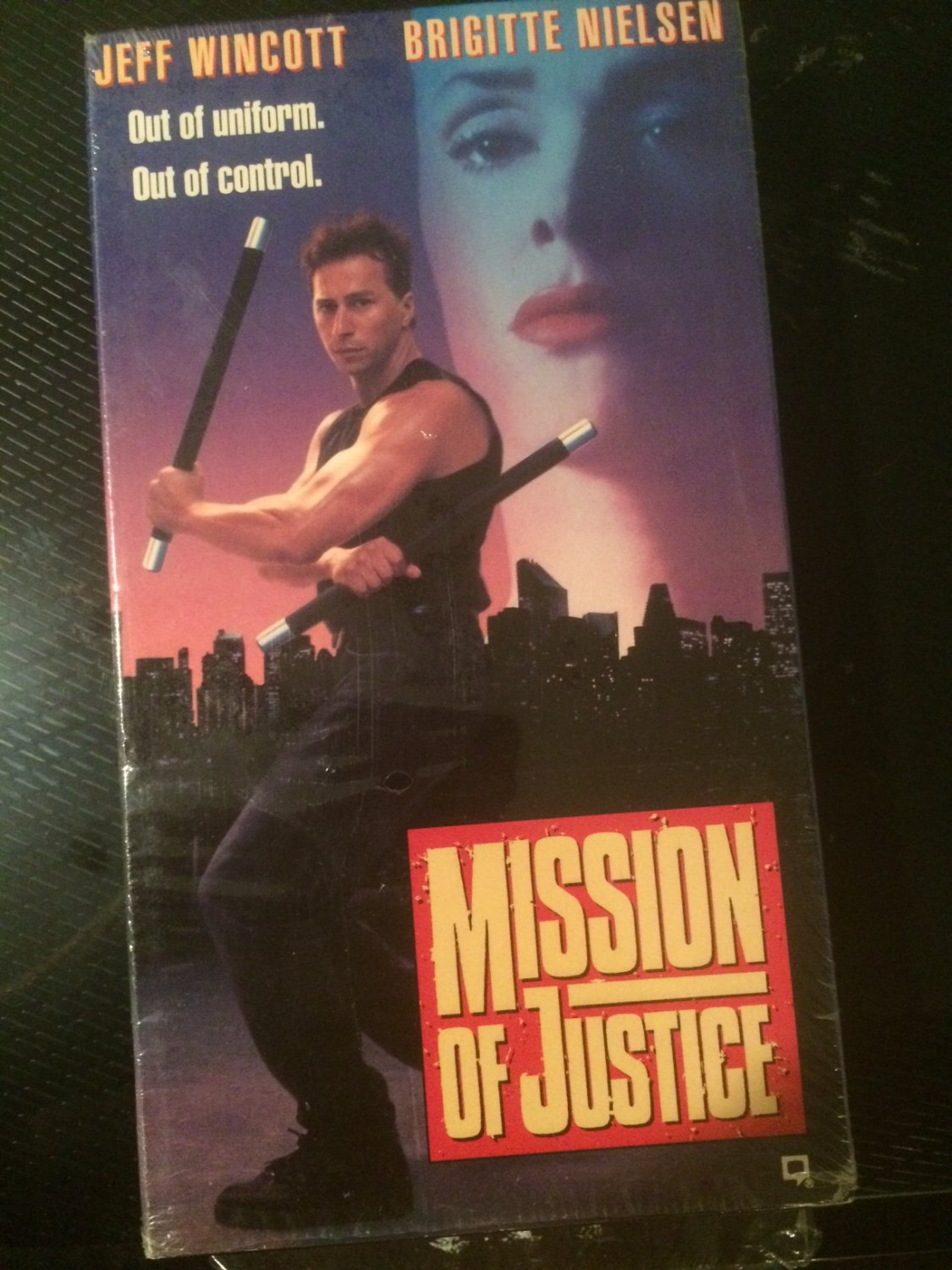 Mission of Justice - VHS - Used - NOT ON AMERICAN DVD