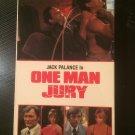 VHS - One Man Jury (Jack Palance) - Used