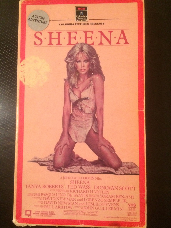 VHS - Sheena - Used - OOP ON DVD