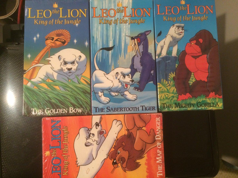 VHS - Leo the Lion (4 pk) - NEW!
