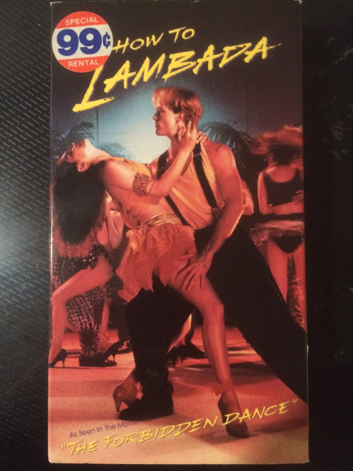 VHS - How to Lambada - Used - NOT ON DVD
