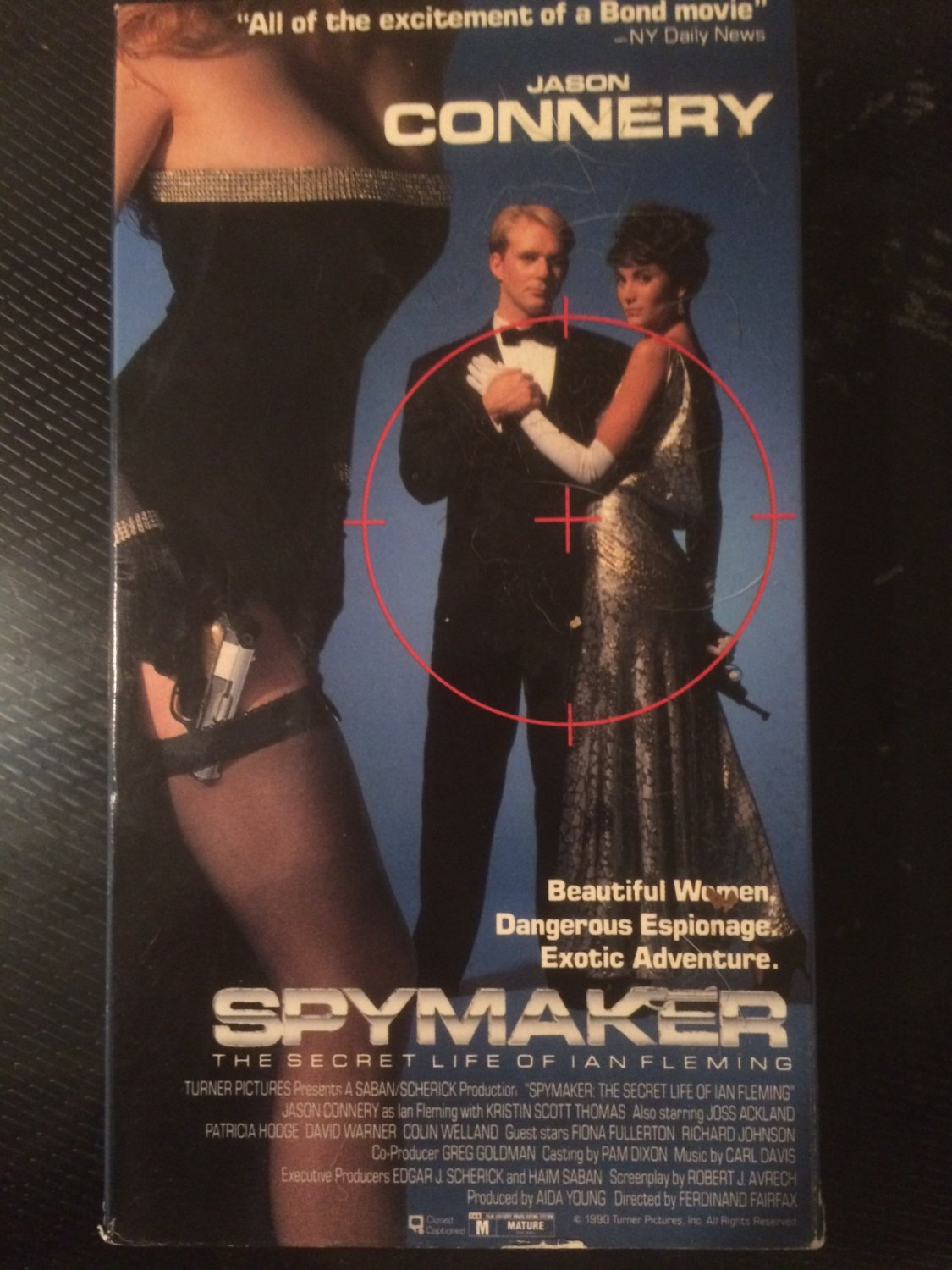 VHS - Spymaker: The Secret Life of Ian Fleming - Used