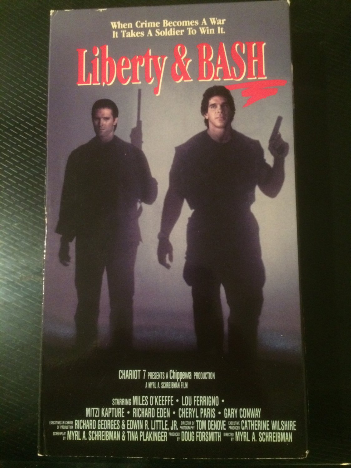 VHS - Liberty and Bash - Used - NOT ON DVD