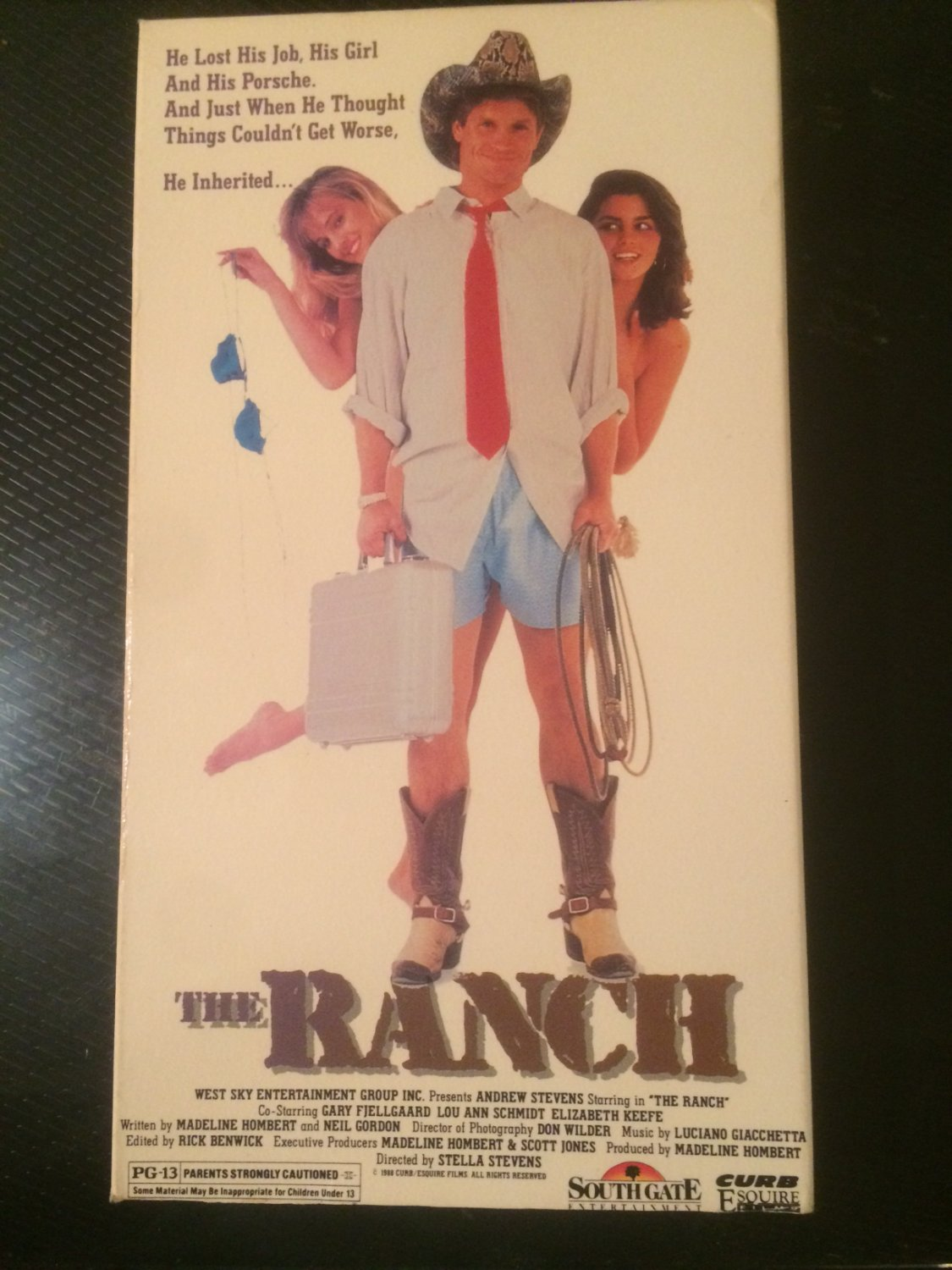 VHS - The Ranch (Andrew Stevens) - Used - NOT ON DVD