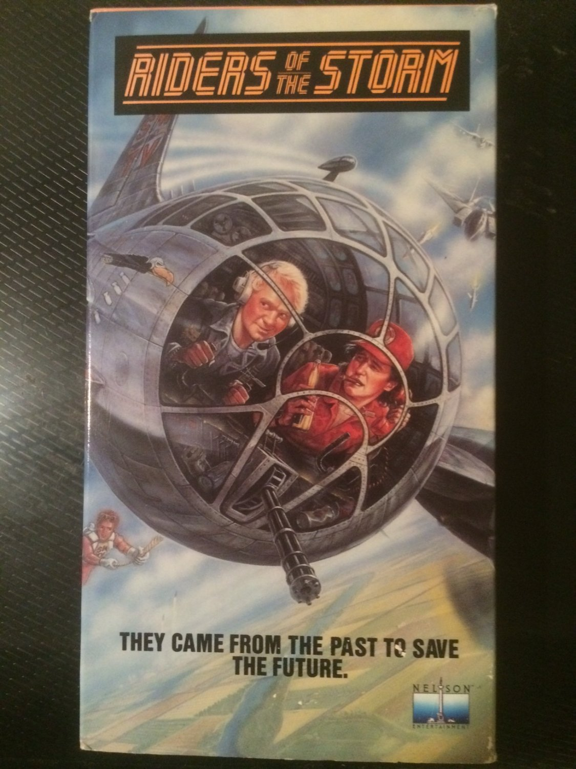 VHS - Riders of the Storm - Used - NOT ON DVD