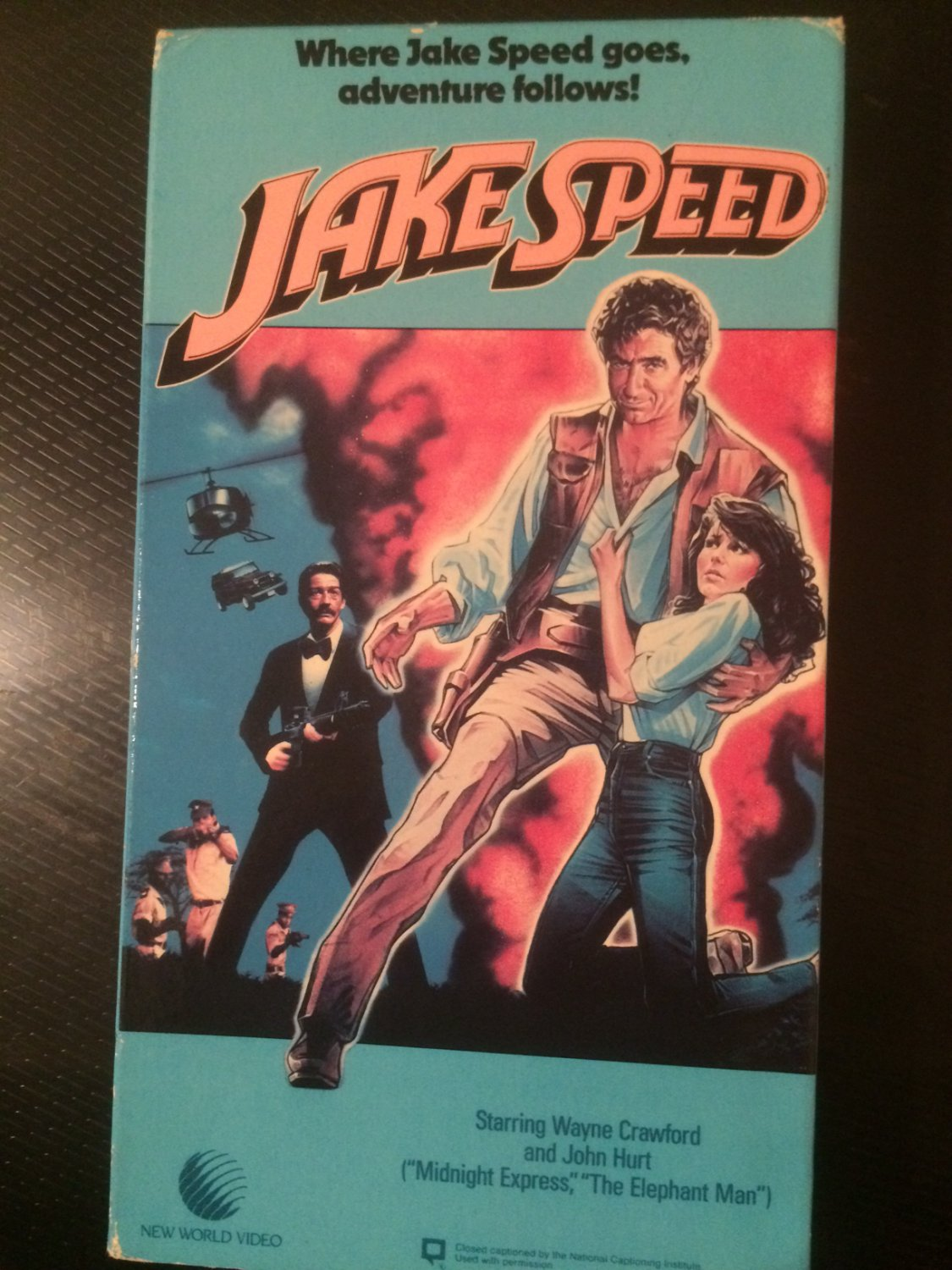 VHS - Jake Speed - Used - NOT ON DVD