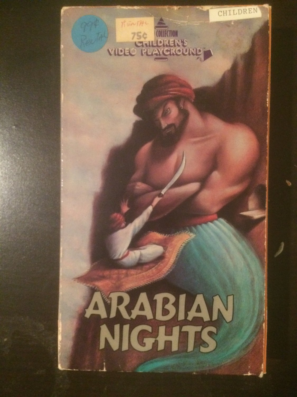 VHS - Arabian Nights (Arthur Rankin Jr. & Jules Bass) - Used - NOT ON DVD
