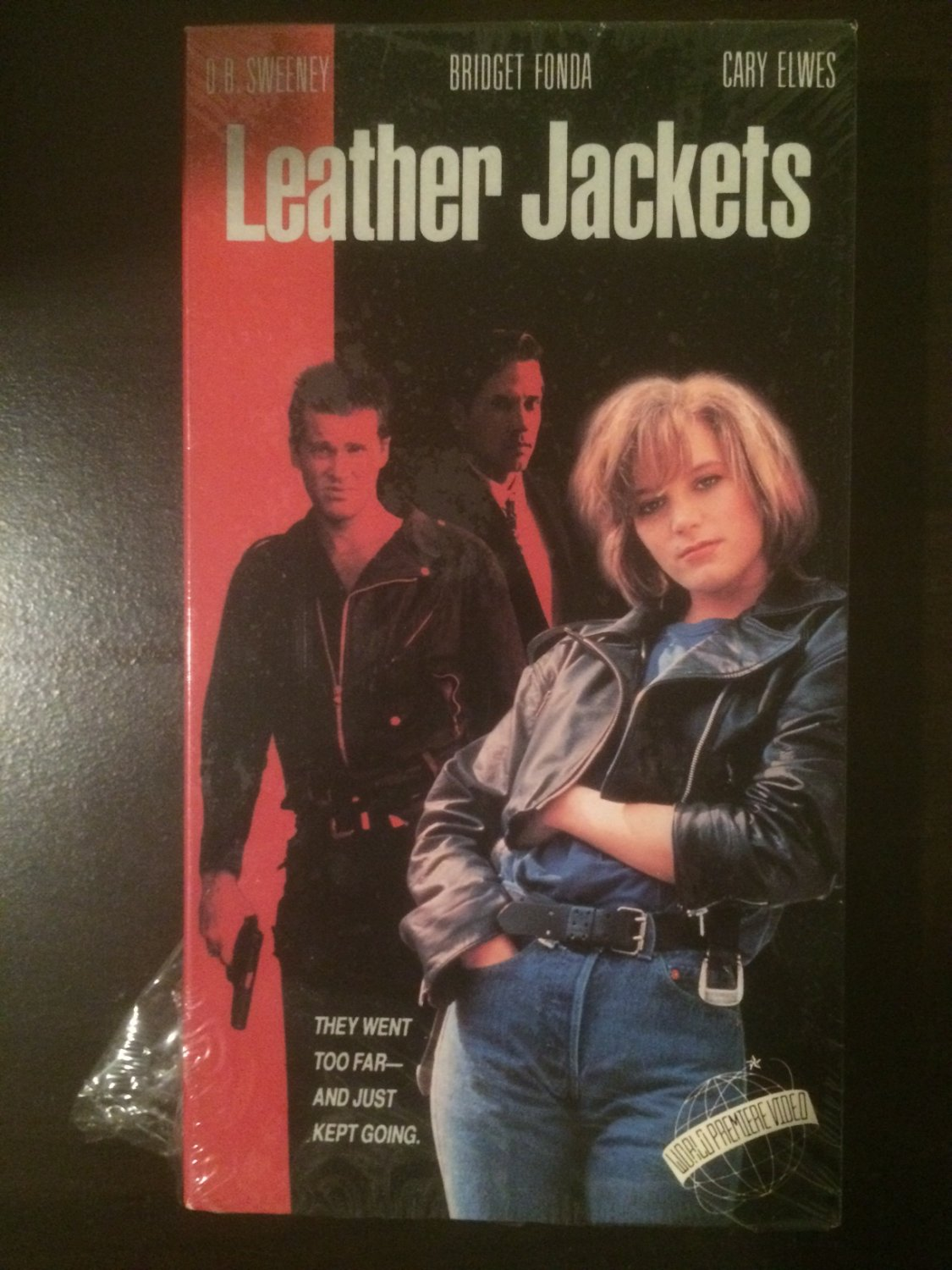 VHS - Leather Jackets - Used - NOT ON DVD