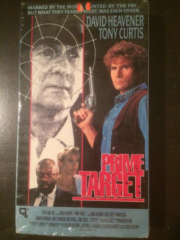 VHS - Prime Target - Used - OOP ON DVD