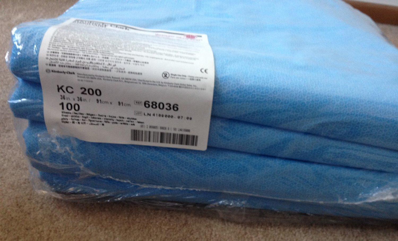 """Kimberly Clark Kimguard KC200 Sterilization Wraps, 36""""x 36"""" - 100 Count - 68036"""