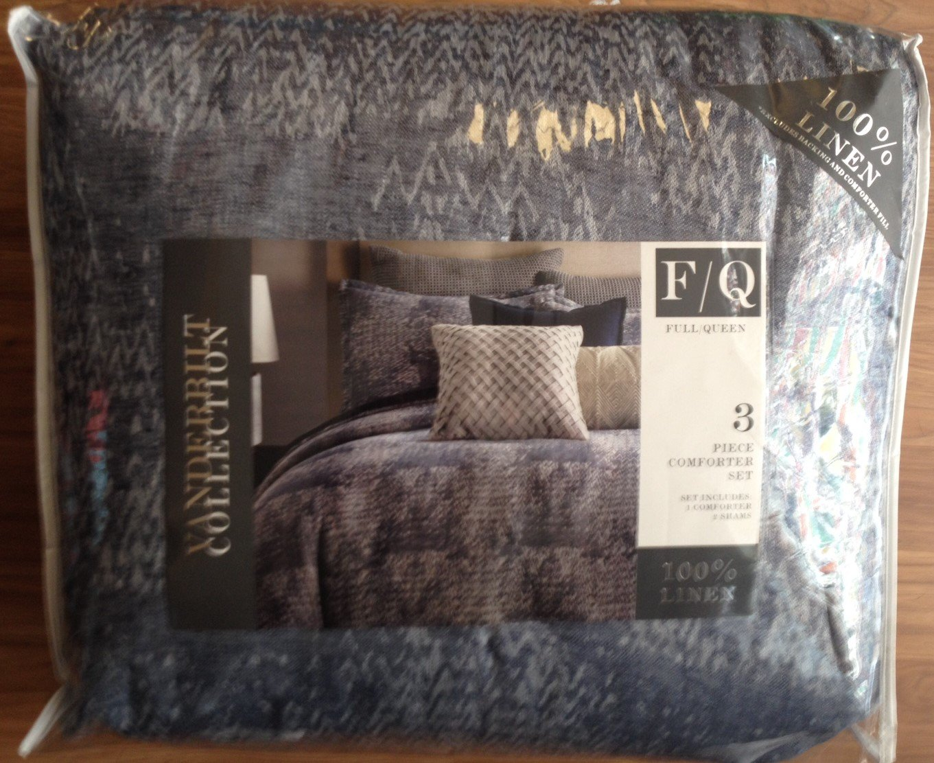 Bedding - NEW Vanderbilt 3-Pc. Comforter Set - FULL/QUEEN