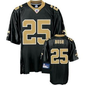 FREE SHIPPING Reggie Bush #25 New Orleans Saints Youth L Jersey  Black  Youth Large Ladies Small