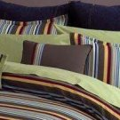Raymond Waites Queen Comforter Set 4 Pc Teal Gold